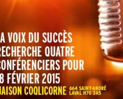 Conférence, 18 février 2015